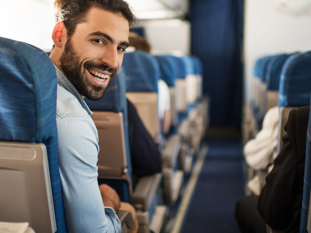 Here's Where You Should Sit On A Plane To Get The Best Service