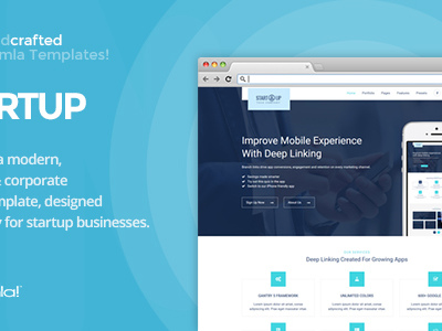 IT Startup - Gantry 5, Business & Portfolio Joomla Template (Business)