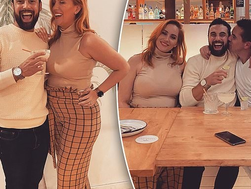 Pregnant Married At First Sight star Jules Robinson goes to restaurant with husband Cameron Merchant
