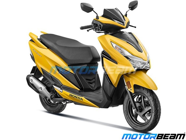 Honda Grazia 125 BS6 Launched, Priced From Rs. 73,912/-