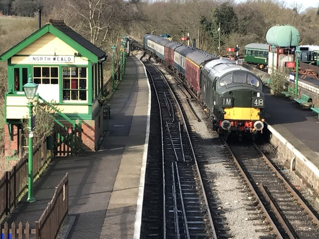 Old trains and a countryside ramble