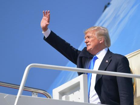 Trump says '100%' ready to testify under oath