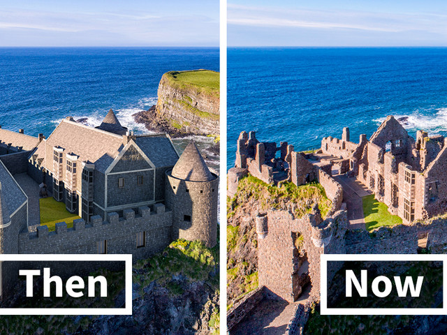This Is How 6 Castles Across The UK Looked Before Falling Into Disrepair