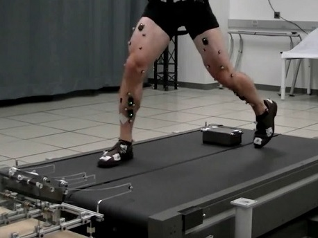 First step towards a better prosthetic leg? Trip people over and over