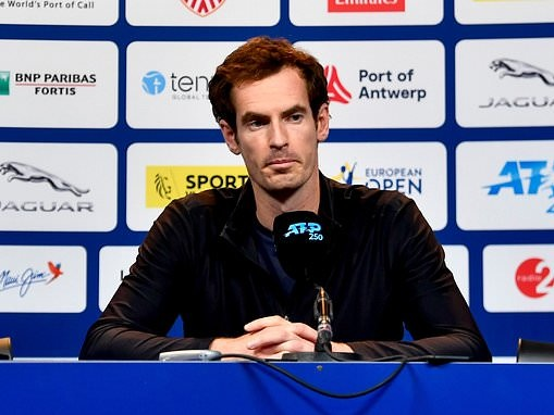 Andy Murray's choice to compete at European Open down largely to wife being heavily pregnant