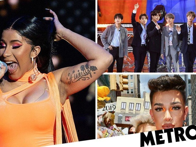 BTS join James Charles and Cardi B as part of Time's 25 most influential people on the Internet