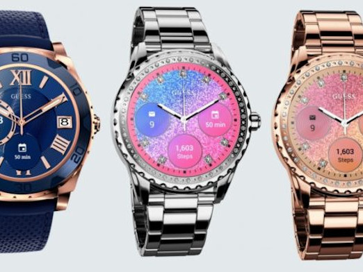 Guess Launches Android Wear Smartwatch