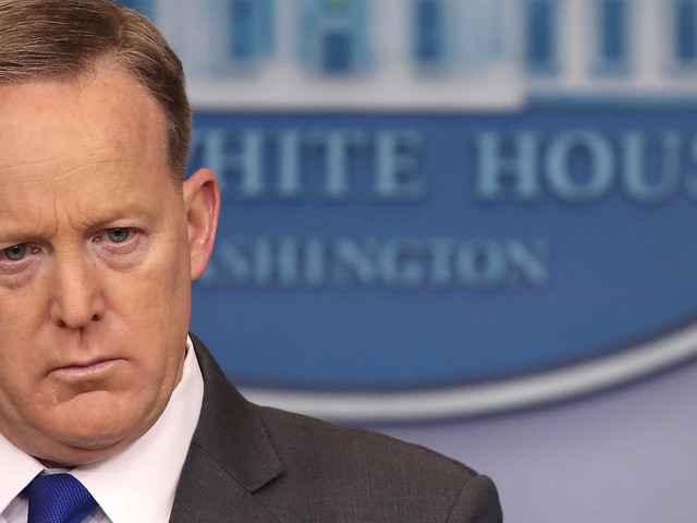 Sean Spicer, White House Press Secretary, Has Latest 'Melissa McCarthy Moment' During Spat With Reporter