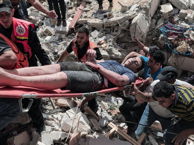 Israel said it didn't mean to kill 42 civilians in Gaza on Sunday, saying it attacked a series of militant tunnels that caused people's homes to collapse
