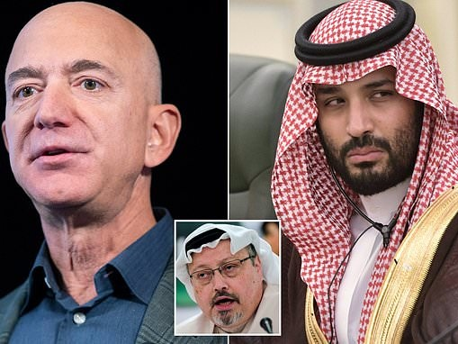 Saudi officials were aware of Crown Prince's plans to hack Jeff Bezos' phone