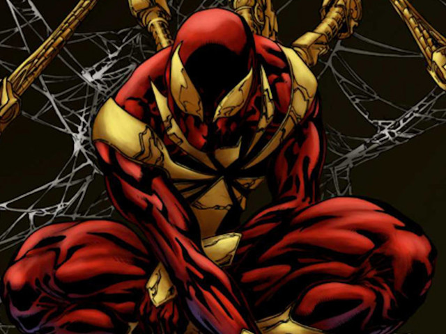 Spider-Man Rocks Iron Spider Armor in Avengers: Infinity War