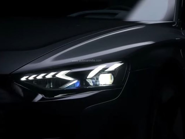 Audi India teases flagship e-tron GT