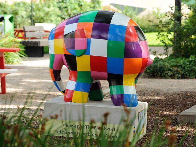 A Herd Of Colourful Elephant Sculptures Has Marched Into South London