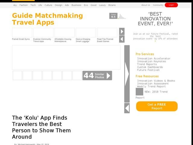 Travel matchmaking