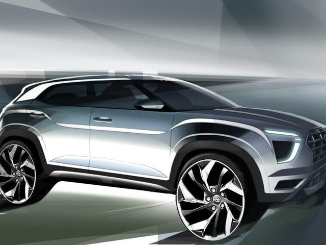 2020 Hyundai Creta previewed in official sketches ahead of Expo debut