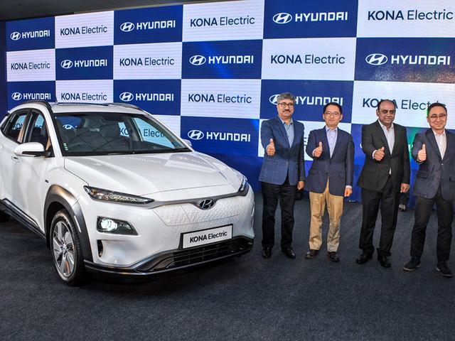 Hyundai Kona Electric launched at Rs 25.30 lakh