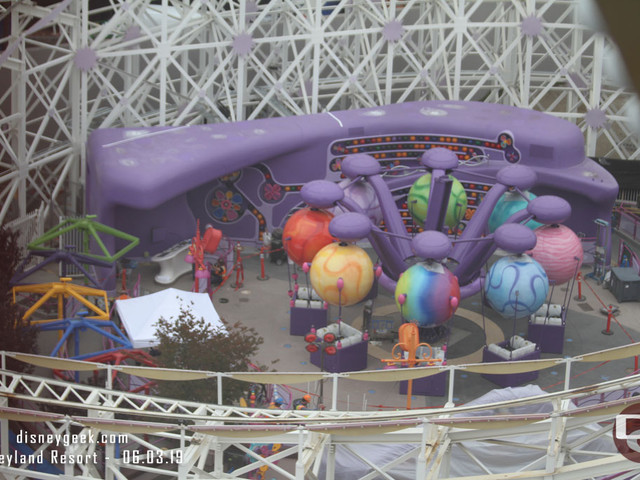 Marvel Land, Emotional Whirlwind, Pixar Pals Parking Construction and More Photo Updates from Disneyland Resort 6/3/19