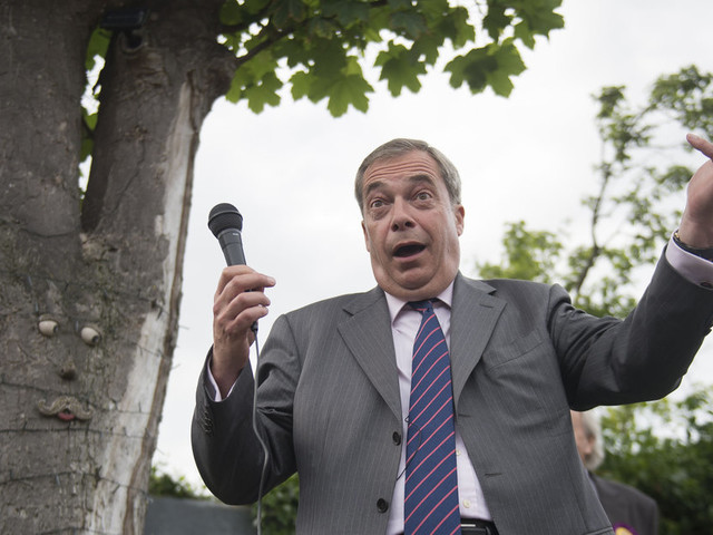 Nigel Farage Says Claims He Secretly Passed Data To Julian Assange Are 'Conspiratorial Nonsense'