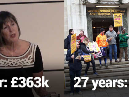 Uni boss behind pension cuts makes more in a year than many lecturers would in 27 under her plan