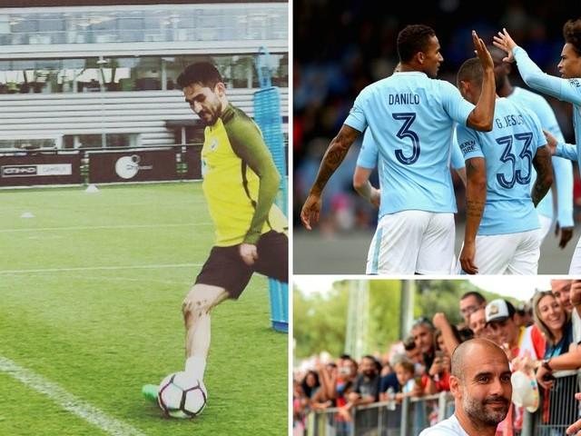 Man City news and transfer rumours LIVE Ilkay Gundogan and Alexis Sanchez updates