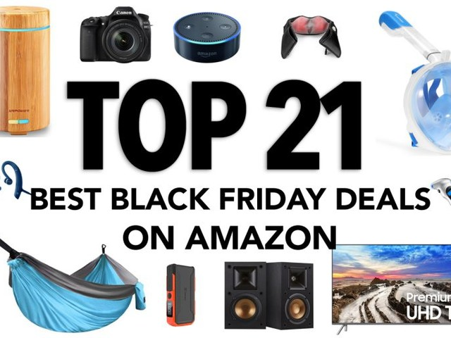 The Top 21 Black Friday Deals on Amazon – All Categories