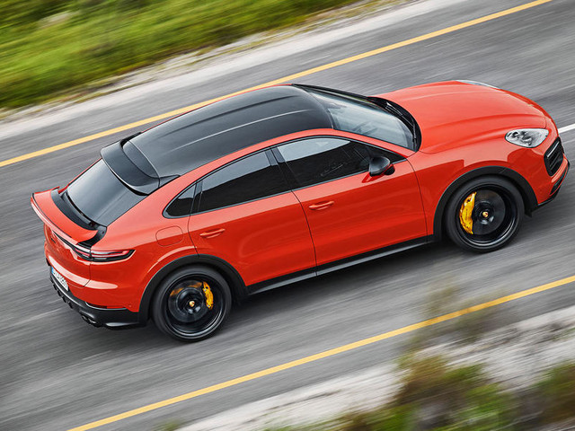 Porsche Cayenne Coupe: new BMW X6 rival revealed