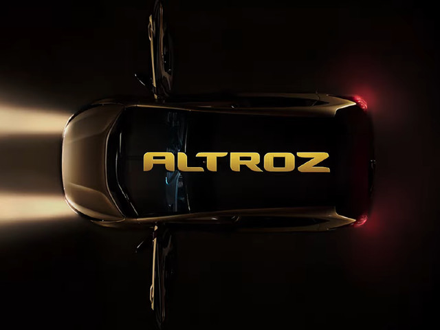 First Tata Altroz Premium Hatchback Rolls Out