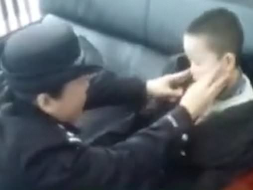 Savage mother leaves her naughty son behind on the high-speed train because 'he wouldn't behave'