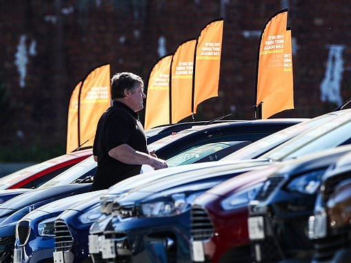 Car sales down 12% on pre-pandemic levels as dealers post first signs of 2021 recovery