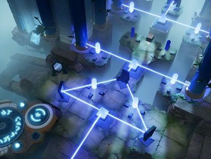 Archaica: The Path Of Light shines lasers into September