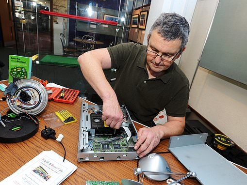 Got a broken vacuum? You could fix it for just £2 at a repair cafe