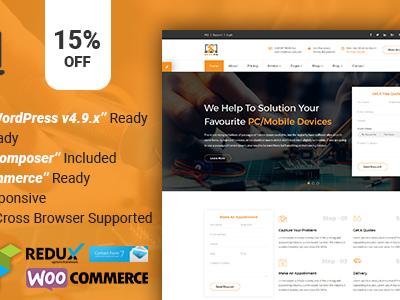 CoSolu | Multipurpose Servicing and Repairing WordPress Theme (Technology)