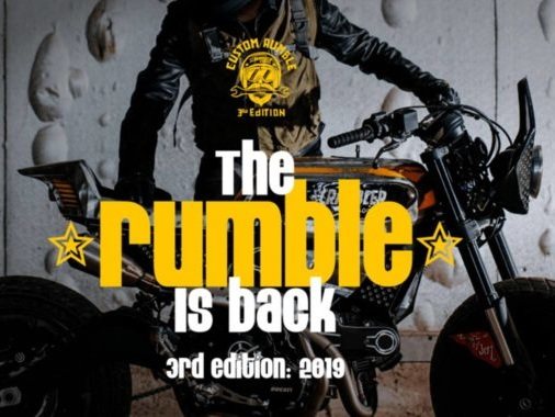 Custom Rumble Is Back To Find The Best Customised Ducati Scambler
