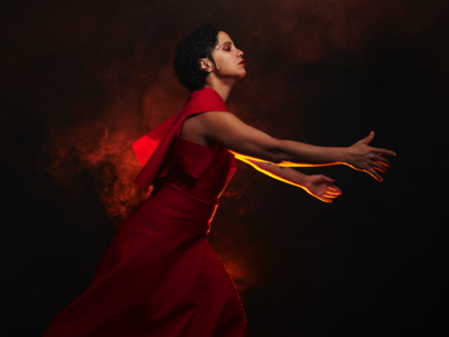 Tunisian experimental singer Emel Mathlouthi delivers the powerful 'Rescuer', from her new album
