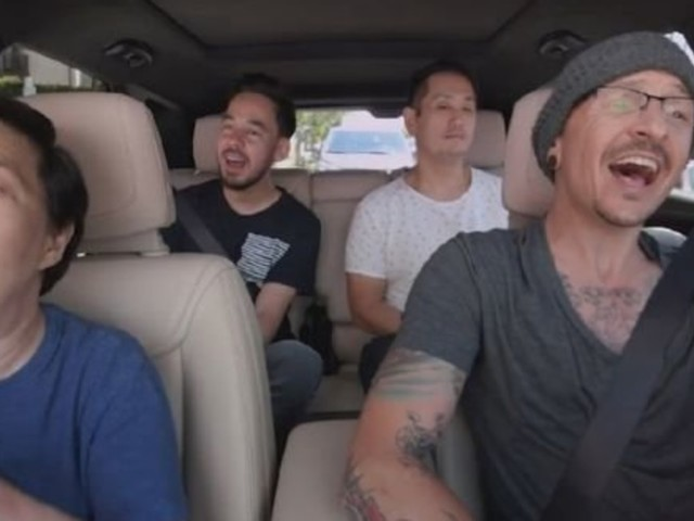 Linkin Park Release 'Carpool Karaoke' Featuring Chester Bennington, Filmed Days Before His Death