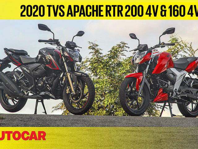 Review: 2020 TVS Apache RTR 160 & 200 BS6 video review