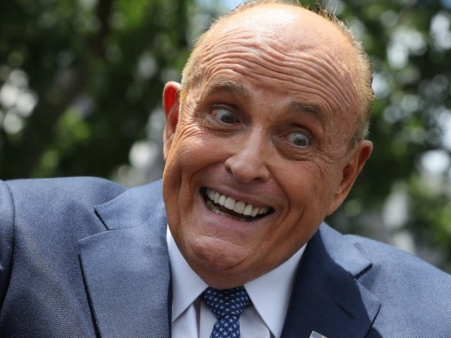 Rudy Giuliani was so 'incredibly drunk' on election night that Trump aides worried he'd smash valuable White House china, Michael Wolff says