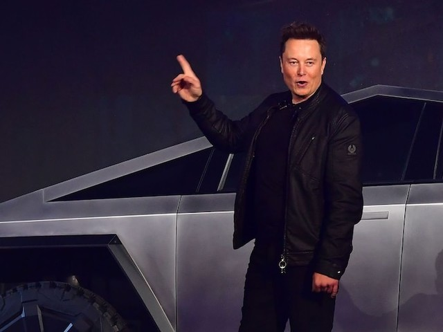 Tesla surges after Elon Musk says more than 200,000 people have ordered the controversial new Cybertruck (TSLA)