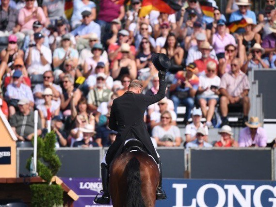 Jung and Klimke put hosts Germany in front at European Eventing Championships