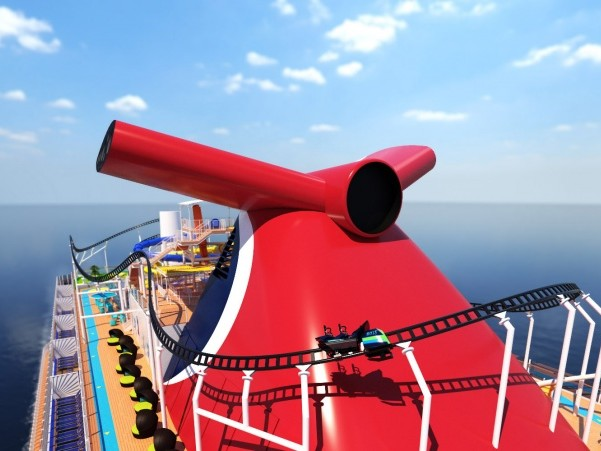 Mardi Gras to feature first ever rollercoaster at sea
