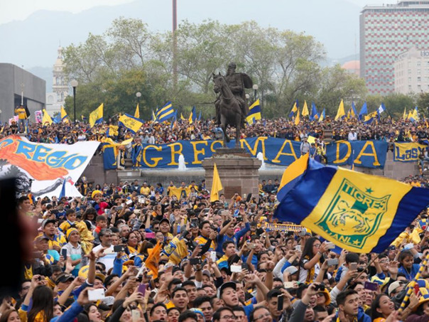 Liga MX: Roughly Half Of Monterrey's Entire Population Swarms Into Town To Celebrate Tigres' Title Victory (Photos & Video)
