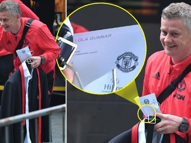 Ole Gunnar Solskjaer's hotel check-in papers show blunder on eve of Manchester Derby