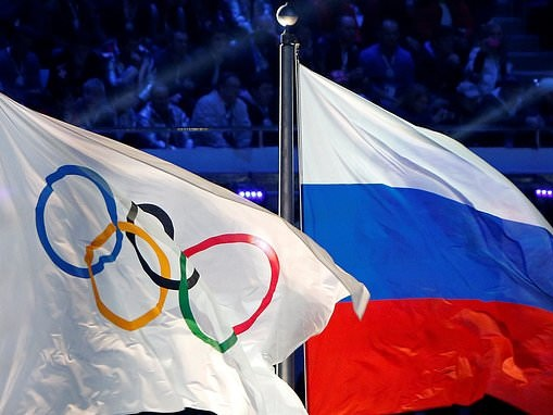 US stars plan podium protest at Tokyo Olympics if Russian athletes win medals