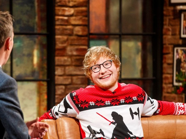 Ed Sheeran divides opinion on The Late Late Show