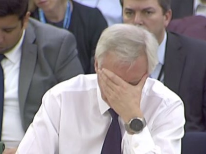 All the times David Davis said his department had done the Brexit impact assessments that don't exist