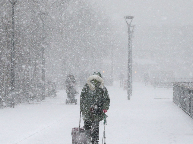 UK Weather: Met Forecasts A Bitterly Cold And Snowy Weekend