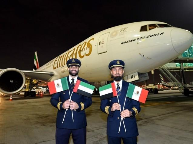 Emirates launches Mexico City service, via Barcelona
