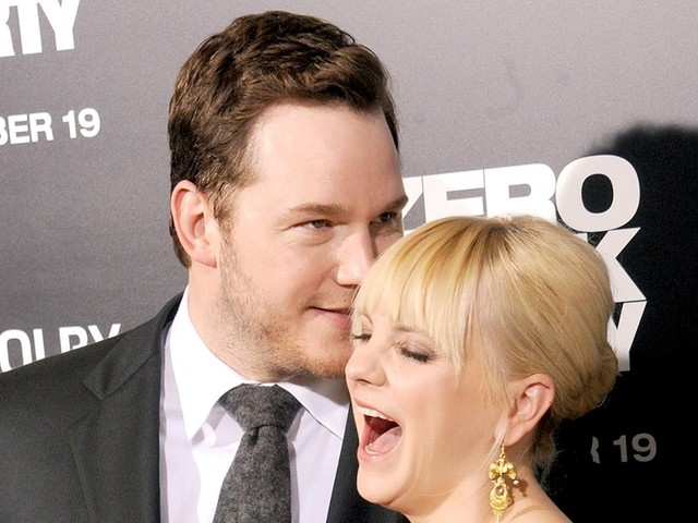 Anna Faris and Chris Pratt: The Way They Were