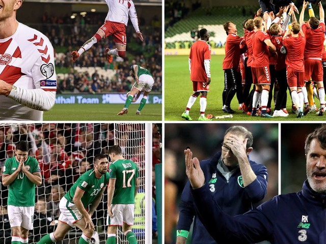 Denmark dynamite Christian Eriksen ends Republic of Ireland's Russia 2018 dream with brilliant hat-trick