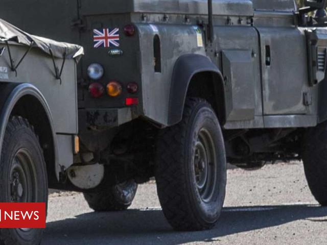 Army To Transport NHS Staff Through Snow Edinburgh Hospitals
